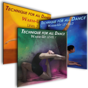 All Warm-Up Levels in a DVD 3 Pack